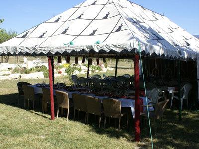 Nouveau : louez votre tente Caïdale traditionnelle marocaine